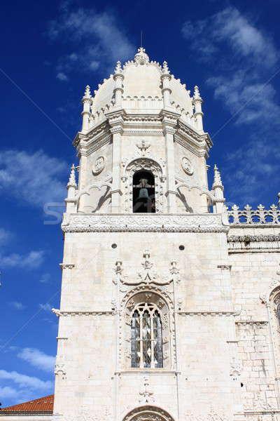 Kubbe manastır Lizbon Portekiz gökyüzü şehir Stok fotoğraf © alessandro0770