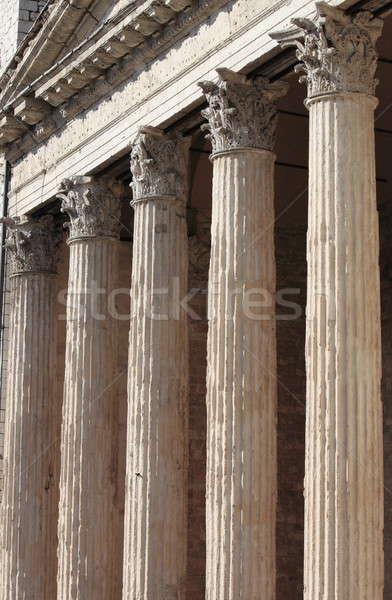 Tempio chiesa urbana architettura bianco marmo Foto d'archivio © alessandro0770
