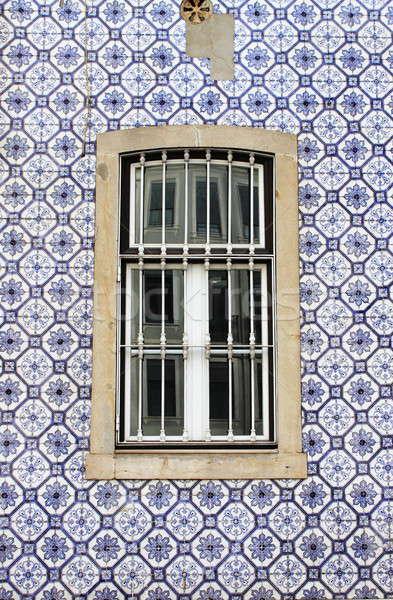 типичный окна дома стены улице дизайна Сток-фото © alessandro0770