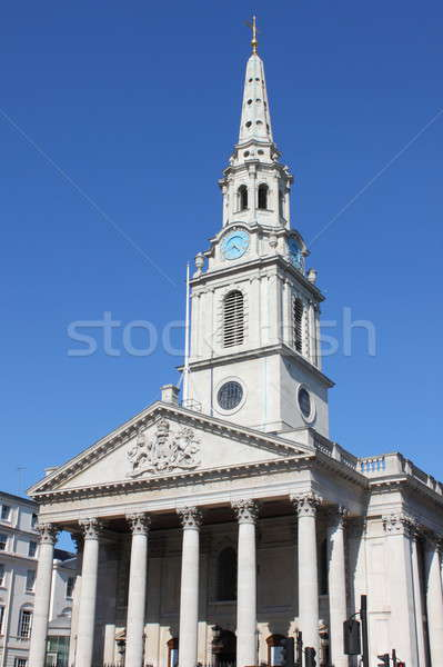 St Martin church in the Fields, London Stock photo © alessandro0770