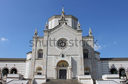 Monumental Cemetery of Milan Stock photo © alessandro0770