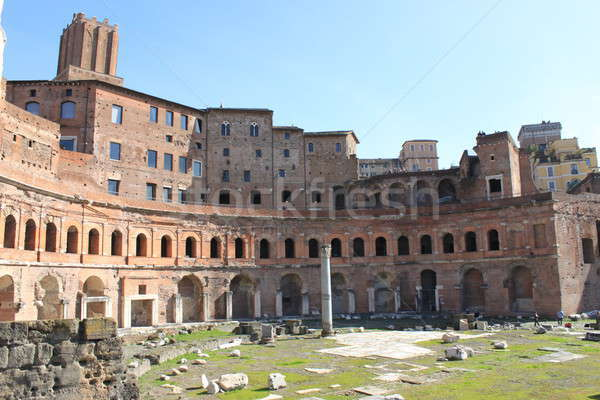 Trajan's Forum in Rome Stock photo © alessandro0770