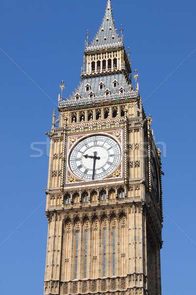 ビッグベン クロック 塔 ロンドン 市 芸術 ストックフォト © alessandro0770