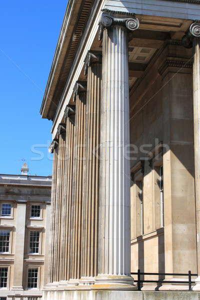 British Museum columns Stock photo © alessandro0770