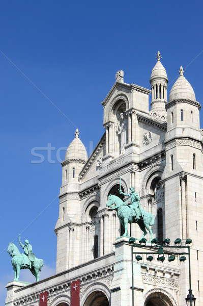 Facade of the Basilica of the Sacre Coeur Stock photo © alessandro0770