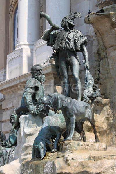 Matthias Fountain in Budapest Stock photo © alessandro0770