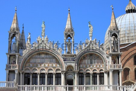 St. Mark Cathedral in Venice Stock photo © alessandro0770