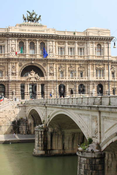 Courthouse Palace in Rome Stock photo © alessandro0770
