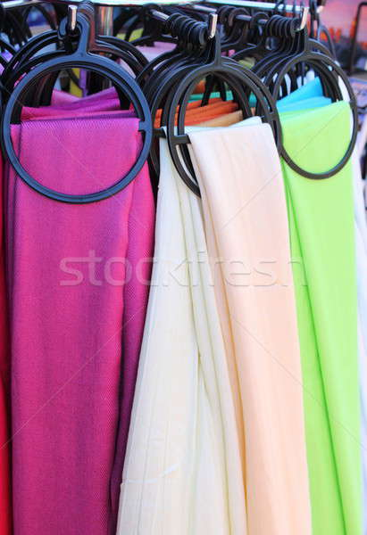 Hanging scarves Stock photo © alessandro0770