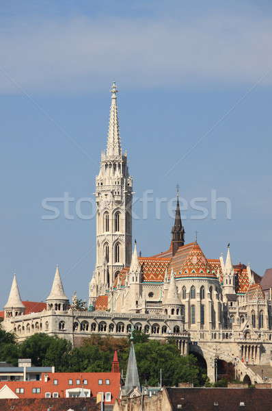 Matthias Church in Budapest Stock photo © alessandro0770
