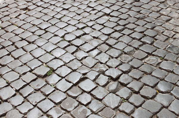 Very old roman pavement Stock photo © alessandro0770