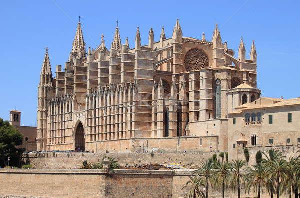 Palma de Mallorca cathedral Stock photo © alessandro0770