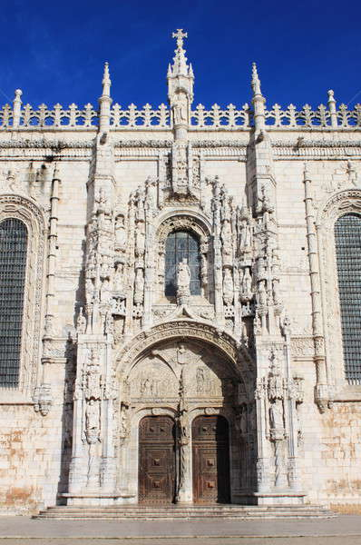 Entree poort klooster Lissabon Portugal wereld Stockfoto © alessandro0770