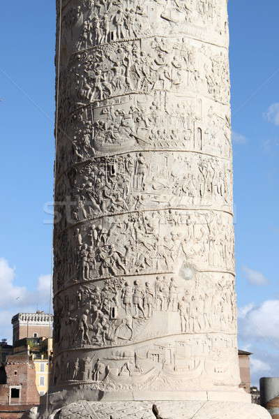 Trajan column in Rome Stock photo © alessandro0770