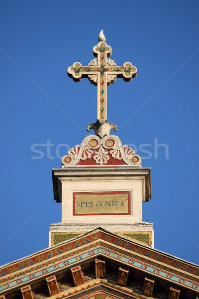 Basilica of Saint Paul outside the walls Stock photo © alessandro0770