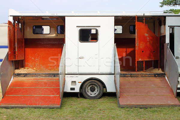 Horse transportation van Stock photo © alessandro0770