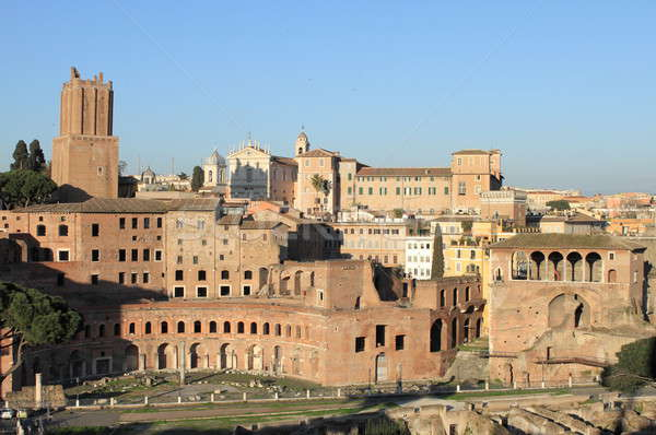 Trajan Forum in Rome Stock photo © alessandro0770