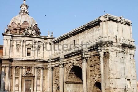 арки римской форуме Рим Италия архитектура Сток-фото © alessandro0770