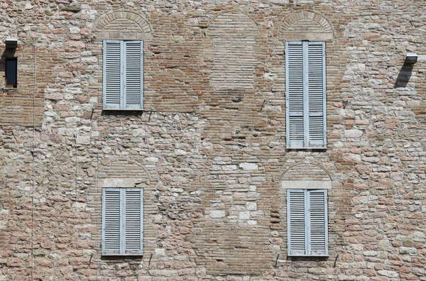 Italian style shutters Stock photo © alessandro0770