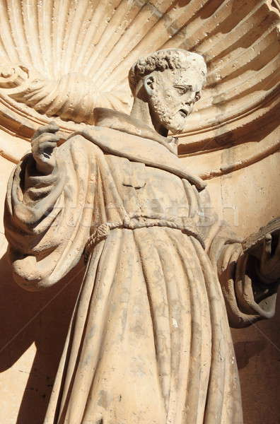 St. Francis of Assisi Statue in Palma de Mallorca Stock photo © alessandro0770