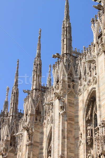 Gothic pinnacles Stock photo © alessandro0770
