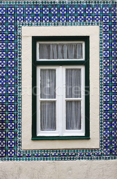 Typical portuguese window Stock photo © alessandro0770