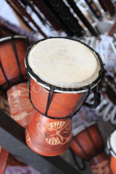 African Djembe drum Stock photo © alessandro0770