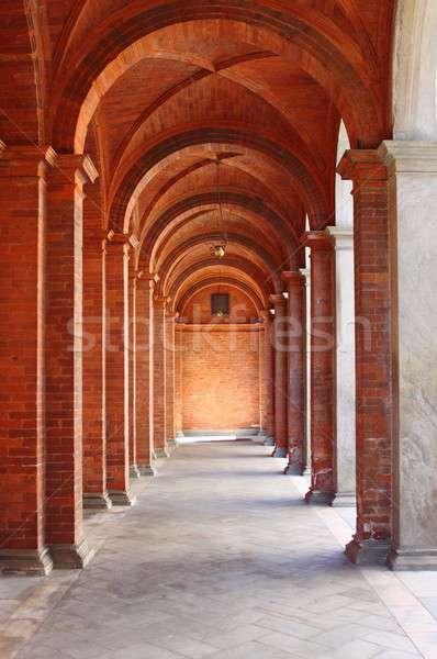 Romanic style colonnade Stock photo © alessandro0770