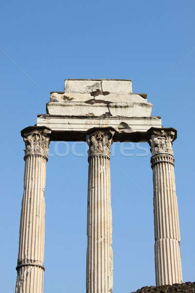 Ruins of the Giulia Basilica Stock photo © alessandro0770
