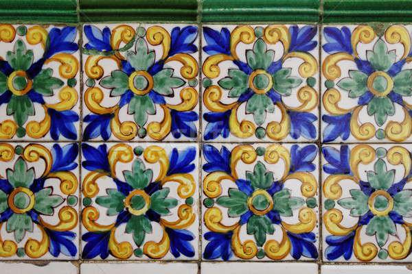 Andalusian Azulejo Stock photo © alessandro0770