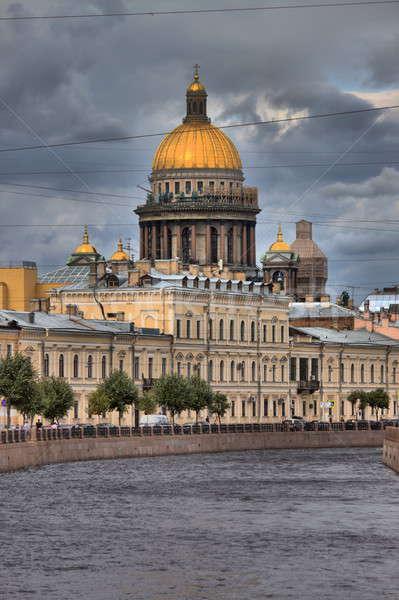 Urbana scenico santo cattedrale cupola Russia Foto d'archivio © alessandro0770