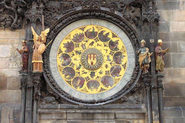 Praga astronômico relógio calendário discar Foto stock © alessandro0770
