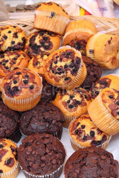 Fresh muffins Stock photo © alessandro0770