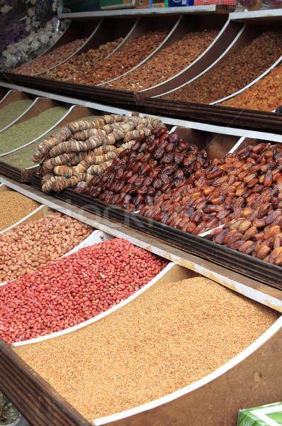 Kurutulmuş meyve bakliyat pazar gıda meyve Stok fotoğraf © alessandro0770