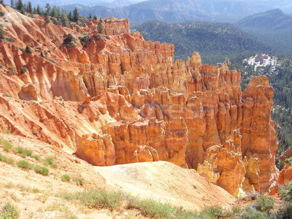 Multiple crags in Bryce Canyon Stock photo © alessandro0770