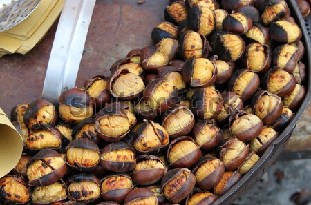 Grilled chestnuts Stock photo © alessandro0770