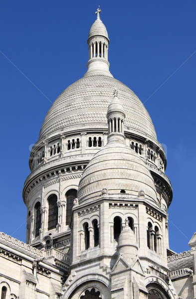 Domes of the Basilica of the Sacre Coeur Stock photo © alessandro0770