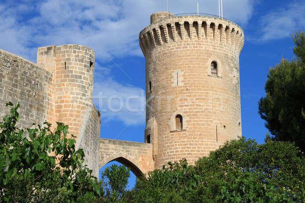 Bellver Castle in Palma de Mallorca Stock photo © alessandro0770