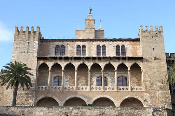 Almudaina Palace in Palma de Mallorca Stock photo © alessandro0770