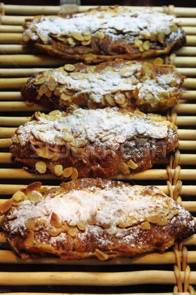 Almond pastries for sale in a patisserie Stock photo © alessandro0770