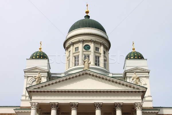 Cathedral of Saint Nicholas in Helsinki Stock photo © alessandro0770