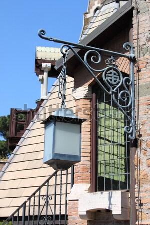 Old street lamp Stock photo © alessandro0770