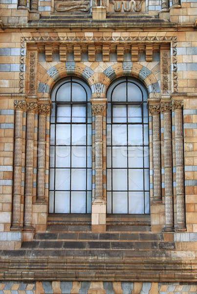 Venster Londen huis gebouw muur natuur Stockfoto © alessandro0770