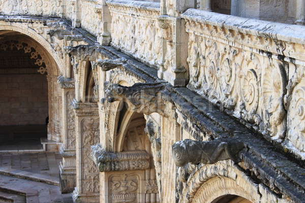 Gargoyles in the Jeronimos Monastery Stock photo © alessandro0770