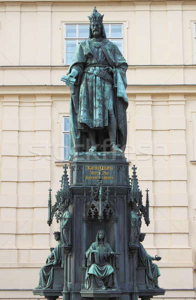 Statue of King Charles IV Stock photo © alessandro0770