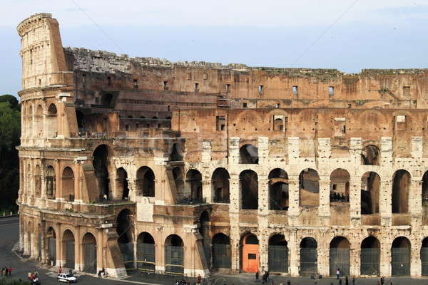 Colosseum Roma İtalya şehir manzara Stok fotoğraf © alessandro0770