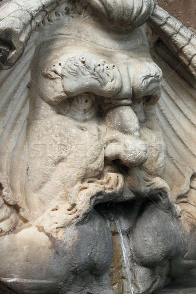 мрамор фонтан Рим Италия стены искусства Сток-фото © alessandro0770