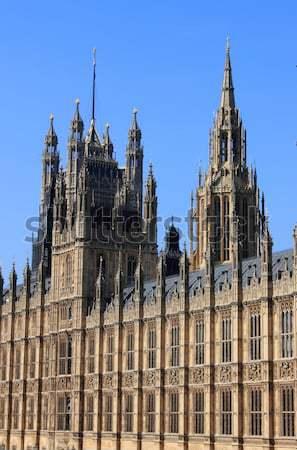 Evler parlamento Londra ayrıntılı görmek gökyüzü Stok fotoğraf © alessandro0770