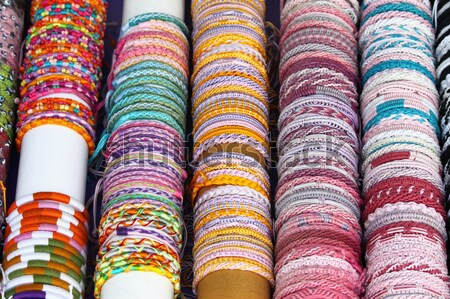Colorful bracelets Stock photo © alessandro0770