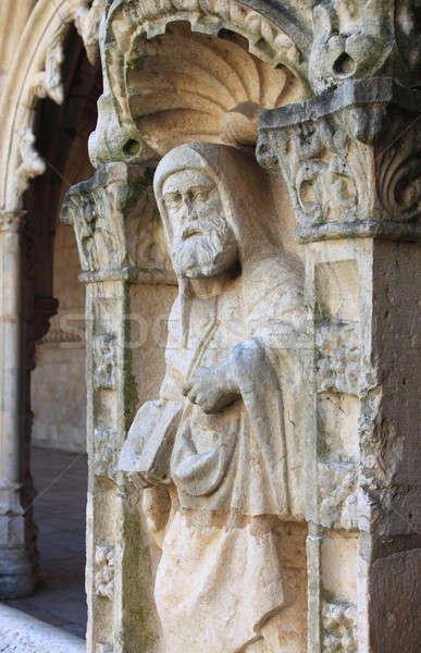 Kolostor Lisszabon Portugália világ templom utazás Stock fotó © alessandro0770